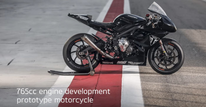 Triumph Moto2 Engine Development
