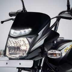 New Bajaj Platina gets LED Daylight Running Lights (DRL)