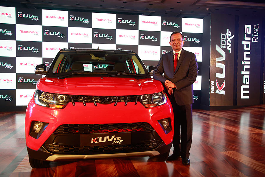 Mahindra KUV100 NXT Edition 2017 Model launched in India by Mahindra