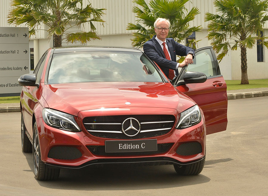 Mercedes-Benz C Class Edition C Red Color Variant
