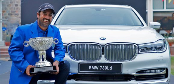 BMW stands out as the 'Luxury Mobility Partner' at the Panasonic Open Tour 2017