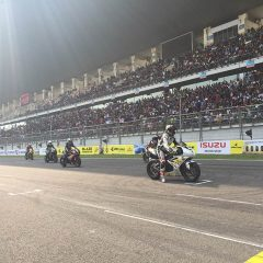 Triumph Motorcycles at JK Tyre Racing Championship 2017