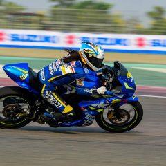 Joseph Matthew clinches the 2017 Suzuki Gixxer Cup Championship
