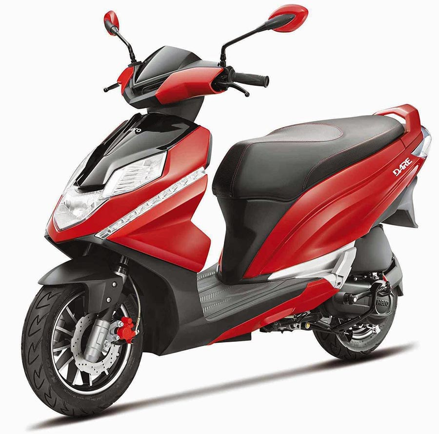 125cc scooter from Hero MotoCorp
