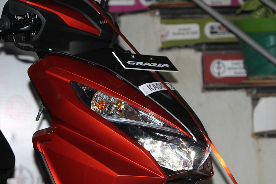 Honda Grazia Photos Gaadikey
