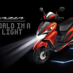 Honda Grazia 125cc Scooter Launched at Rs 57,897
