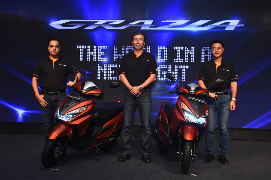 Honda Grazia Launch Photo
