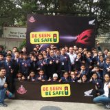 Honda organizes Be-Seen-Be-Safe Campaign for Children's Day