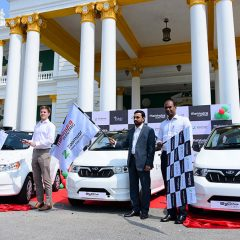 Mahindra Deploys 20 e2oPlus cars in Mysuru to enable EV Shared Mobility