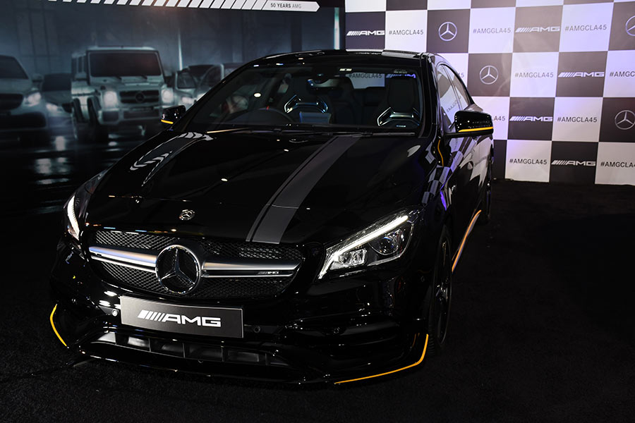 Mercedes Amg Cla 45 And Gla 45 4matic Performance Cars Launched Gaadikey