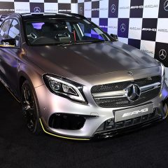 Mercedes-AMG CLA 45 and GLA 45 4MATIC Performance Cars Launched