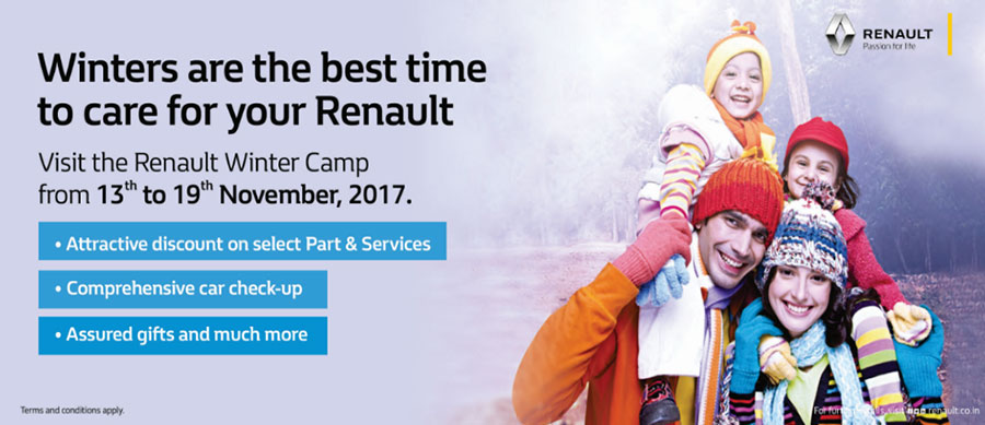 Renault Winter Service Camp