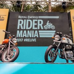 Rider Mania 2017 showcases Royal Enfield Interceptor INT 650