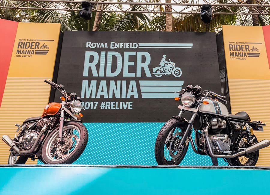 Royal Enfield Interceptor 650 and Royal Enfield Continental GT 650