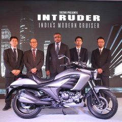 Suzuki INTRUDER 155cc Cruiser Launched at Rs 98,340