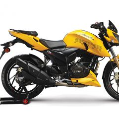 TVS Apache RTR 200 Fi4V with Electronic Fuel Injection (EFI) Launched