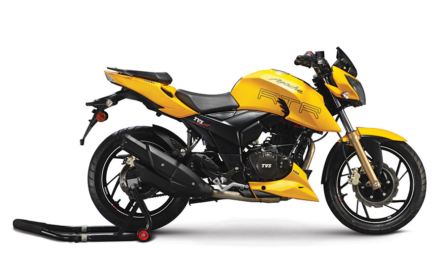 TVS Apache RTR 200 FI version