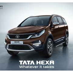 Tata Hexa Downtown Special Urban Edition Arrives