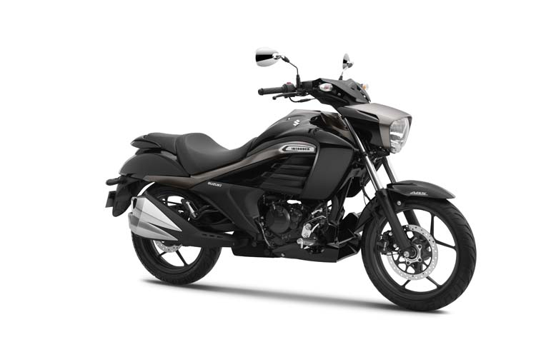 Suzuki Intruder 155 Black Color Photo