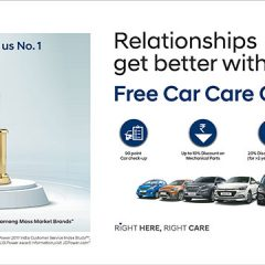 Hyundai Commences 25th Free Car Care Clinic in India