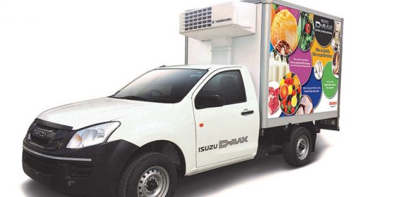 ISUZU D-MAX Reefer to be showcased at India Cold Chain Show