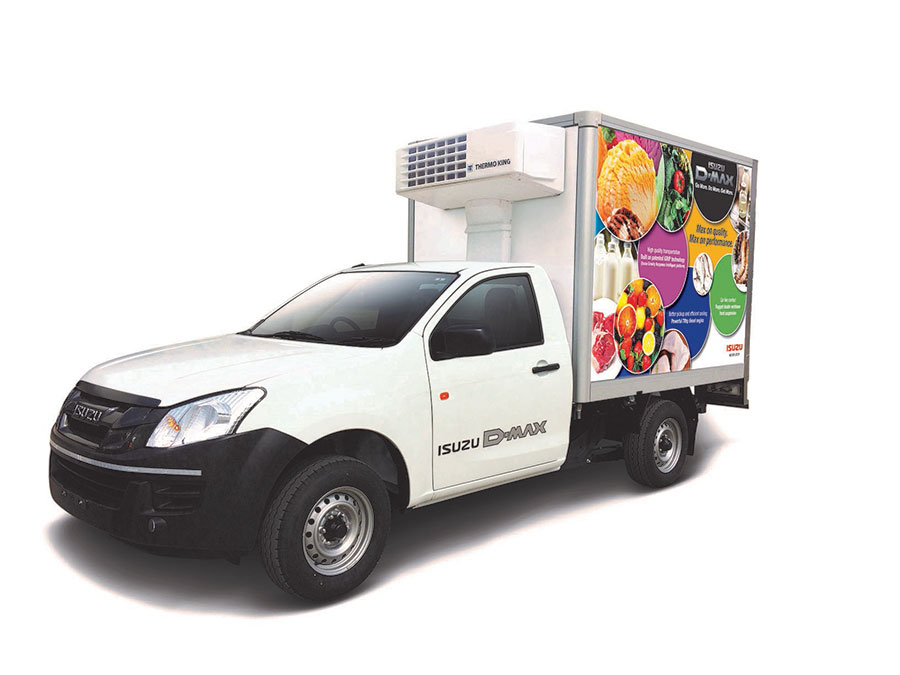 Isuzu Reefer Vehicle Photo 1