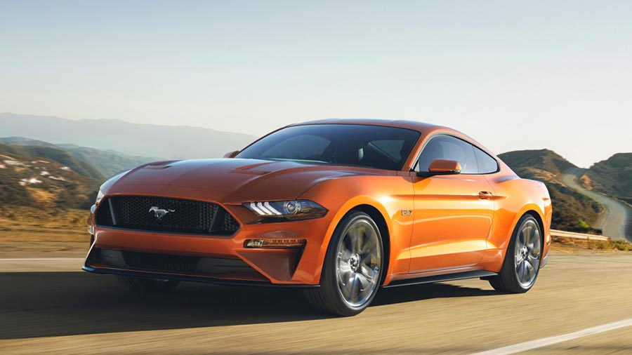 Upcoming 2018 Ford Mustang