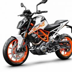 2018 KTM Duke 390 Gets White Color Option