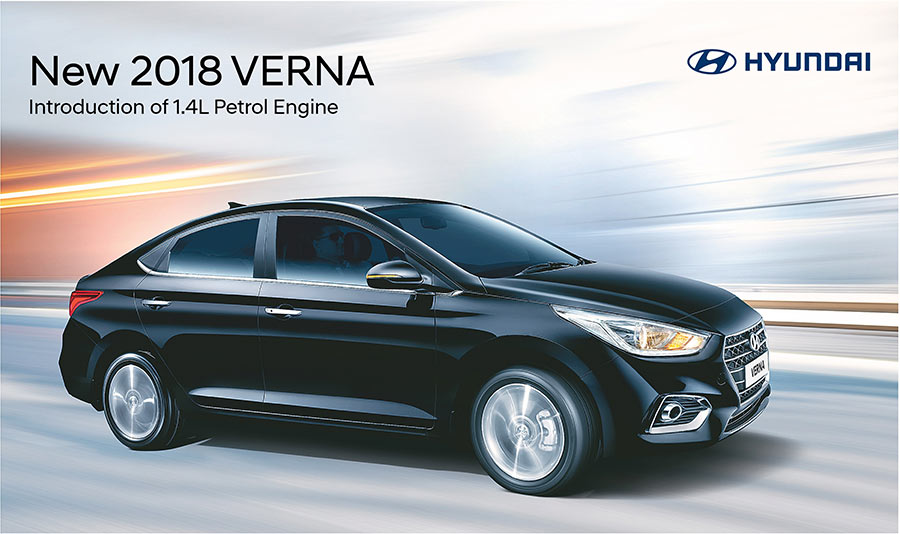2018 hyundai verna 1 4l petrol engine variant launched in