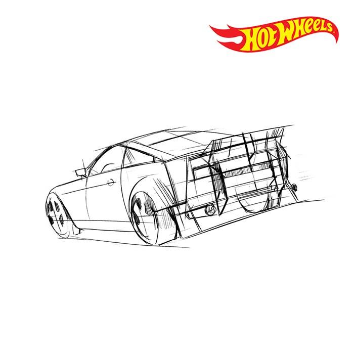 Hot Wheels Concept Rear