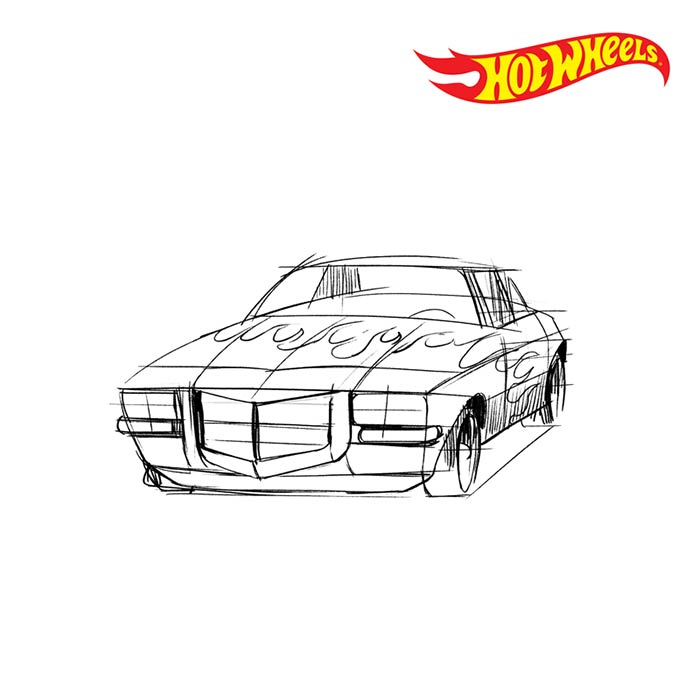 Hot wheels concept front