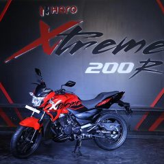 Hero Launches Xtreme 200R Motorcycle;  Available in April 2018;