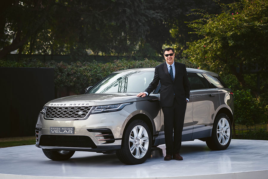 Jaguar Range Rover Velar India Launch