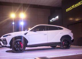 Lamborghini URUS in Bengaluru (Photos)