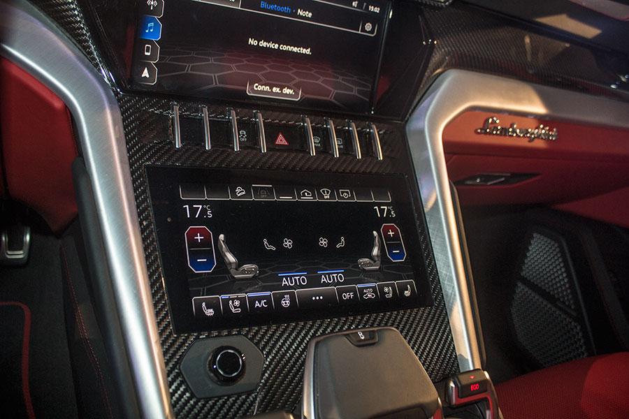 Lamborghini Urus Inside Gaadikey