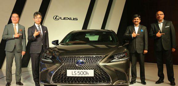 Lexus LS500h Makes it to India