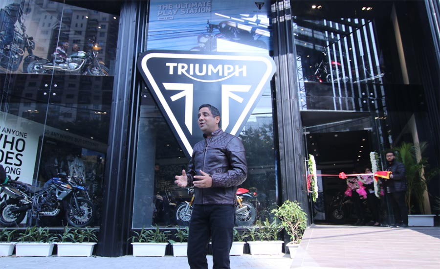 Triumph Motorcycles MD Vimal Sumbly
