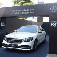 Mercedes Benz Launches India's First BS6 Car (BS VI Compliant)