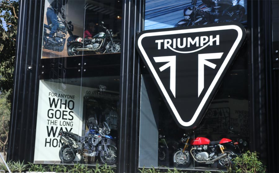 Triumph Gurgaon Dealership