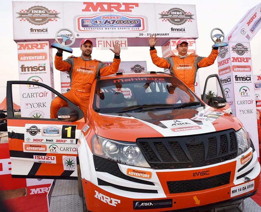 Mahindra Adventure Wins INRC 2017