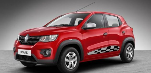 2018 Renault Kwid Colors: Red, White, Bronze, Silver, Grey
