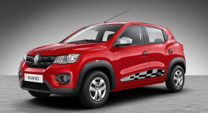 2019 Renault Kwid Colors Red White Bronze Silver Grey Gaadikey