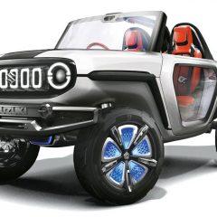 Maruti Shows E-SURVIVOR Concept at Auto Expo 2018