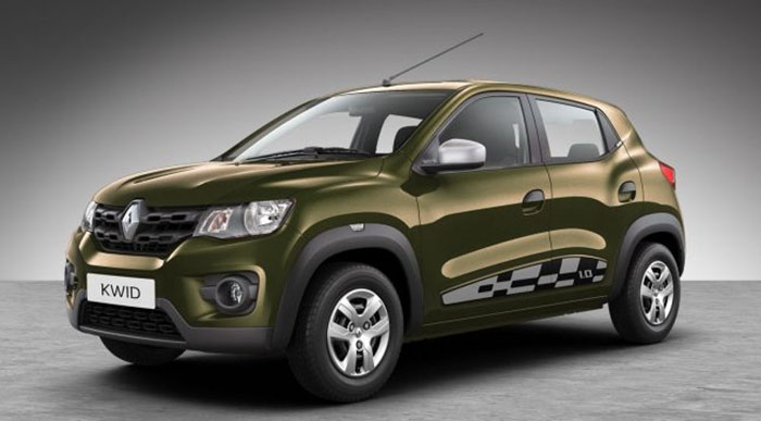 2018 Renault Kwid Colors Red White Bronze Silver Grey