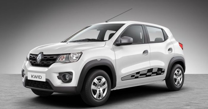 2018 Renault Kwid White Color (Ice Cool White)
