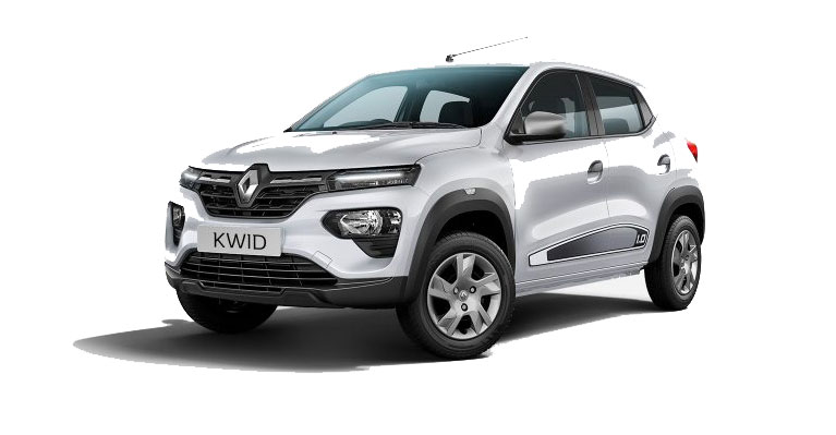 2019 Renault KWID White Color - Ice Cool White