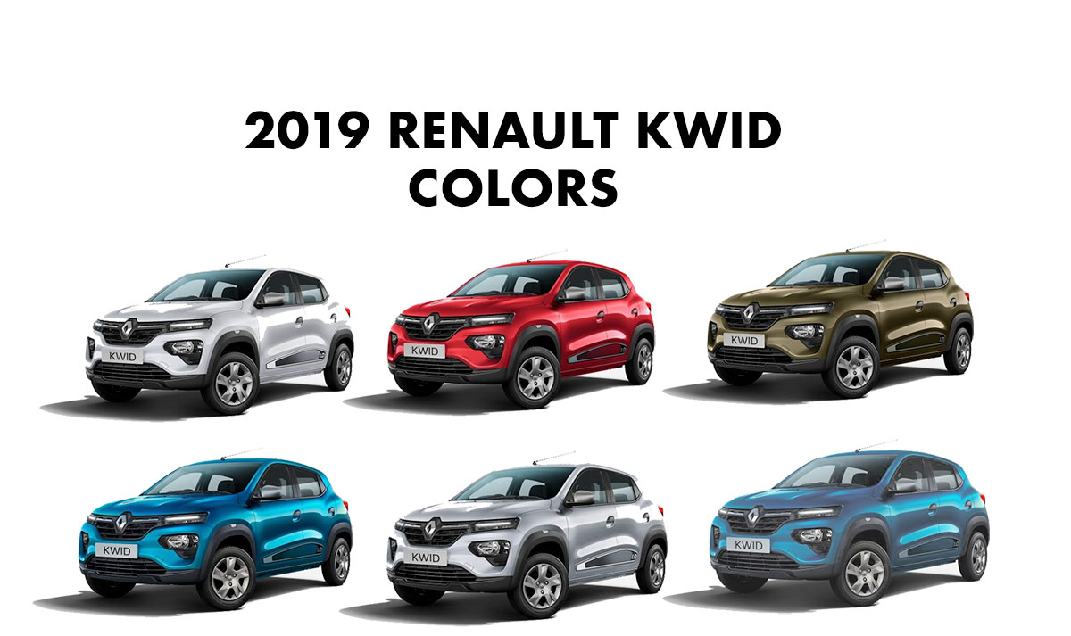 2019 Renault KWID All Colors - New 2019 KWID Colors