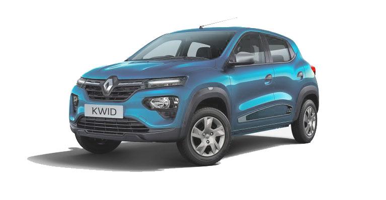 2020 Renault Kwid Blue Color - New 2020 Renault Kwid Electic blue color option.