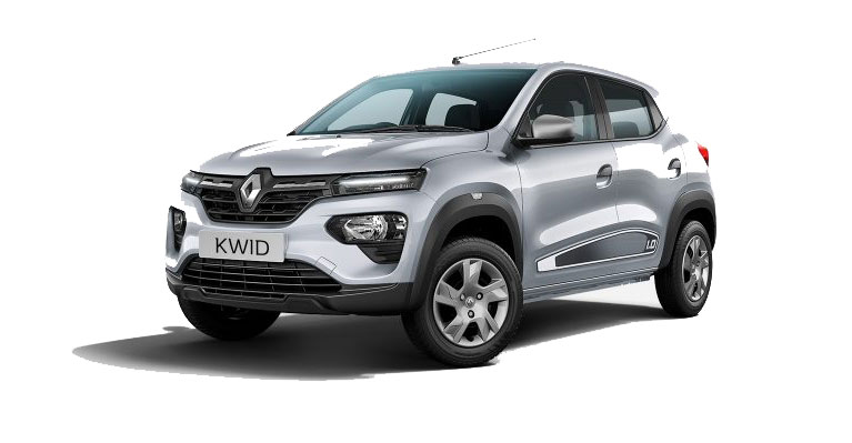 2019 Renault Kwid Moonlight Silver Color