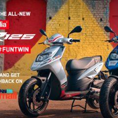 Aprilia SR 125 FUNTWIN Campaign Launched